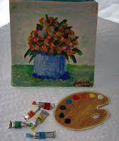 Miniaturansichten Nualamary: Tutorial Rohr Ölfarben, Leinwände und Gemälde.