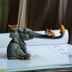 Cute Elephant Statues Home Decoration - Home Atomic presents Cute Baby Elephant for home decoration. Informations About Cute Elephant Statue - Cute Baby Elephant, Elephant Art, Elephant Sculpture, Ceramic Animals, Ceramic Art, Animal Sculptures, Sculpture Art, Baby Elefant, Elephant Figurines