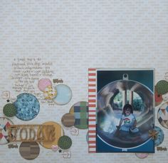 Go Now Go scrapbook page by Shimelle Laine