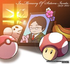 Thank you for everything, Mr. iwata. You gave me a great childhood with your creations.