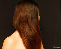 DIY dunkle Haare natürlich aufhellen. Thumbs up!