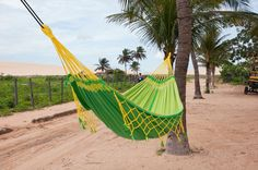 Because napping in a hammock is the definition of living the dream Indoor Hammock, Hammocks, Hammock Accessories, Small Swivel Chair, School Chairs, Double Hammock, Tribute, Woodland Garden, Deck Chairs