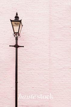 Urban cityscape, lifestyle & travel stock photos for female entrepreneurs from Haute Stock featuring pink brick wall with black street lamp. #hautestock #lifestyle #stockphotography #blogging #socialmedia #femaleentrepreneur #marketing #businessowner #branding #city #travel #urban #modern Street Lamp, Modern City, Brick Wall, Blogging, Travel Photography, Branding, Urban, Stock Photos, Marketing