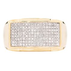 My Diamond Jewelry Box: Diamond Men's Right Hand Ring