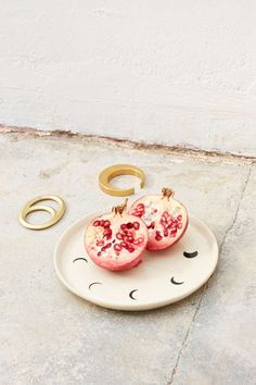 Small Spells Moon Phase Handmade Plate | Shop Design Lover at Nasty Gal