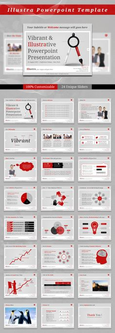 Illustra Powerpoint Template by kh2838.deviantart.com on @deviantART