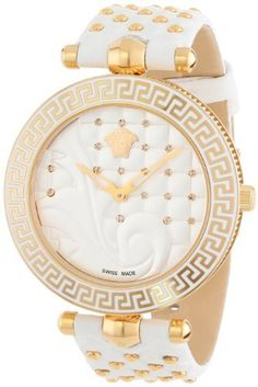 Versace Women's VK7060013 Vanitas Rose Gold Ion-Plated Coated Stainless Steel Interchangeable Straps Diamond Watch