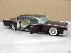 1964 Lincoln Continental - Click image to find more Cars & Motorcycles Pinterest pins