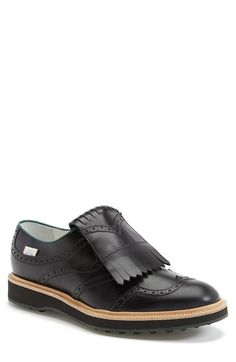 Gucci 'Grand Slam' Kiltie Wingtip (Men) available at #Nordstrom