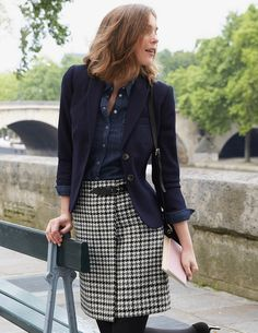 Is it time for a highland fling? This wrap skirt brings the traditional Scottish kilt up to date with a subtle A-line shape and stylish wool designs. A real leather buckle one one side keeps it anchored in its Celtic roots.