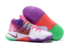 new style ea3cc 0504d Buy Nike Kyrie 2 Sneakers White Rainbow Basketball Shoes Copuon Code from  Reliable Nike Kyrie 2 Sneakers White Rainbow Basketball Shoes Copuon Code  ...