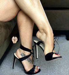 Only Stiletto Sandals: Photo Sexy High Heels, Beautiful High Heels, Open Toe High Heels, Sexy Legs And Heels, Gorgeous Feet, Hot Heels, Platform High Heels, Strappy Heels, High Heel Boots