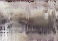 Gerhard Richter, Abstract, Untitled 896-6. I love this artist's work!