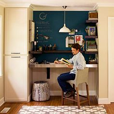 Real-Life Redo: Home Office Makeover   Functional Office Space   SouthernLiving.com