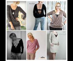 Nähanleitungen Mode - Efiara Ebook 34-54 Kleid, Oberteil, Weste, Jacke - ein Designerstück von Schnittgefluester-Shop bei DaWanda
