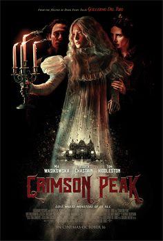 Visual exploration for Guillermo Del Toro's 'Crimson Peak' by http://scottw.myportfolio.com/crimson-peak