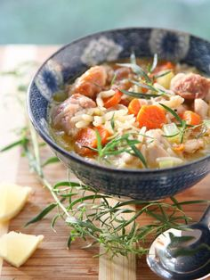 Lemon Chicken Stew and a Virtual Baby Shower