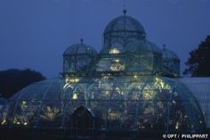 The Royal Greenhouses of Laeken  (only open to the public for 3 weeks in the Spring)