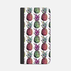 Pineapple Party Pattern iPhone 7 Plus Wallet Case