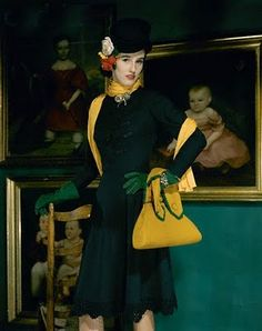 Babe Paley 1941 love that crazy yellow
