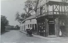 Thompson's, end of Mobberley Road