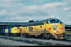 RailPictures.Net Photo: ONR 1502 Ontario Northland GMD FP7 at Toronto, Ontario, Canada by Roger Lalonde