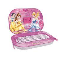 Laptop BagTop Princess 32 atividades Yellow Rosa | | Compre Aqui | R$ 109,90