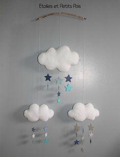 Il y a quelques temps maintenant que j'ai étoffé la gamme d'articles de décoration de chambre bébé en vous proposant des mobiles...