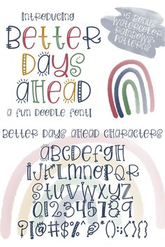 Cute Fonts Alphabet, Doodle Alphabet, Handwriting Alphabet, Hand Lettering Alphabet, Cute Handwriting Fonts, Doodle Fonts, Doodle Lettering, Creative Lettering, Simple Lettering
