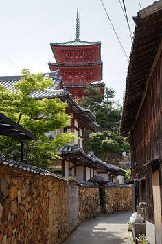 Saiko-ji in Shodo Island, Tonosho, Kagawa Prefecture, Japan