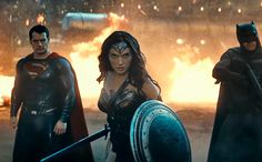 """[youtube http://youtu.be/fis-9Zqu2Ro pushTop]  """"Maybe it's the Gotham City in me, we just have a bad history with freaks dressed like clowns,""""Bruce Wayne tells Clark Kent early in the new trailer forBatman v Superman: Dawn of Justice. Ouch. Batman might not have heat-ray vision, but that definitely qualifies as a burn."""