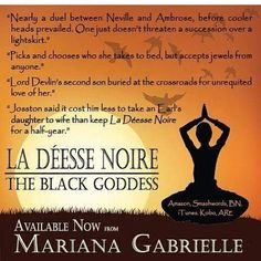 La Deesee Niore: The Black Goddess By Mariana Gabrielle #available on #Amazon #kobo #smashwords #itunes #barnesandnoble  #bookstagram #books #booksofinstagram #authorsofinstagram #writersofinstagram #writersofig #authorsofig #romance #scribes #regencyromance #authors http://ift.tt/2g64qri