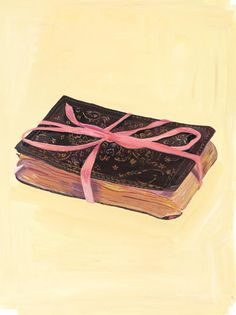My Favorite Things - Maira Kalman -  Julie Saul Gallery via Adaa. Purchase a copy of this book at Amazon and Barnes & Noble.
