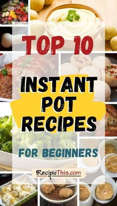 Instant Pot Pressure Cooker, Pressure Cooker Recipes, Best Instant Pot Recipe, Frozen Vegetables, Recipes For Beginners, International Recipes, Recipe Collection, Soup Recipes, Easy Meals