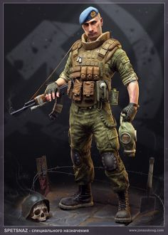 Special forces Picture  (3d, character, soldier, russian)