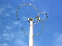 Efactor Dual-Band (2m & 70cm) Horizontally Polarized Halo antennas
