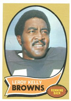 1970 Topps #20 Leroy Kelly Front