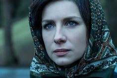"""HQ still of Claire in """"Dragonfly In Amber""""."""