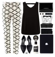 """""""Another Saturday"""" by coombsie24 ❤ liked on Polyvore featuring Retrò, Étoile Isabel Marant, Zara, Yves Saint Laurent, Givenchy, H&M, Kate Spade and Bobbi Brown Cosmetics"""