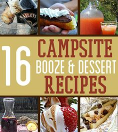 Camping Desserts and Cocktails | Best Camping Dessert and Drinks Recipes | survivallife.com