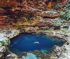 """T e m e l i n g N a t u r a l P o o l  Photo by @iwwm Photo location : Temeling Natural pool, Nusa Penida  Do you love to explore new places and…"""