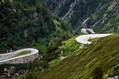 Nufenen Pass -- Switzerland