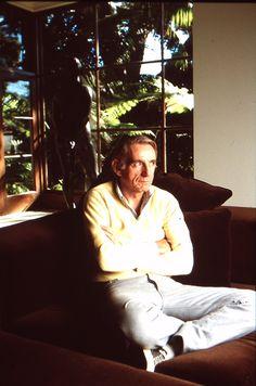 Rod McKuen Mansion 007d; 1986-10-01 Rod McKuen photoshoot slide 03