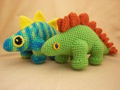 Plato the Stegosaurus Amigurumi Pattern