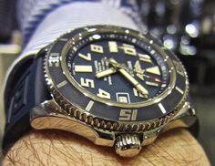 "Sportswatchblogger - Sportuhren Blog : Breitling Superocean 42 Limited Edition ""Blue Dive..."