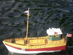 """11) """"Bodil""""  A  scratch built semi scale  model of one of the many small boats used in the war to bring supplies from Scandinavia to Great Britain, as described in the novel """"The Shetland Bus"""""""