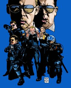 Hot Fuzz by Nathan Milliner