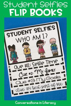 Back to School Writing Student Selfies and How to Succeed Flip Books