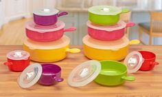 Groupon - Cooks Professional 10-Piece Microwavable Bowl Set for £14.99, Free Delivery (63% Off) in [missing {{location}} value]. Groupon deal price: £14.99