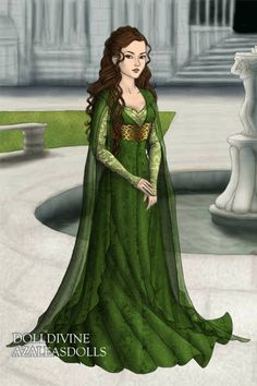 Margaery ~ by Nifredil ~ created using the LotR Hobbit doll maker   DollDivine.com